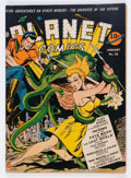 Golden Age (1938-1955):Science Fiction, Planet Comics #22 (Fiction House, 1943) Condition: VG/FN....