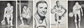 Basketball Collectibles:Others, 1950's to 1970's Detroit Pistons Player & Team Postcards by J.D. McCarthy Lot of 45 (2 Signed). ...