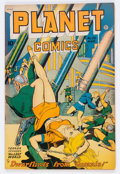 Golden Age (1938-1955):Science Fiction, Planet Comics #53 (Fiction House, 1948) Condition: FN/VF....