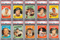 Baseball Cards:Lots, 1959 Topps Baseball High Grade Shoe Box Collection (216). ...