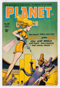 Golden Age (1938-1955):Science Fiction, Planet Comics #38 (Fiction House, 1945) Condition: VG+....
