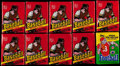 Baseball Cards:Unopened Packs/Display Boxes, 1978 Topps Baseball Unopened Wax Pack Collection (9)....