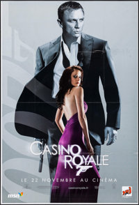 "Casino Royale (Gaumont/Columbia TriStar, 2006). French Grande (46.5"" X 69""). James Bond"
