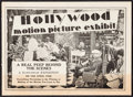 """Movie Posters:Miscellaneous, Hollywood Motion Picture Exhibit in Atlantic City & Others Lot (c. 1920s). Promotional Handout (8 Pages, 7"""" X 5""""), Promotion... (Total: 3 Items)"""