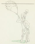 Animation Art:Production Drawing, Fantasia Nubian Servant Centaurette Animation Drawing (WaltDisney, 1940)....