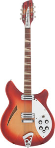 Musical Instruments:Electric Guitars, 1966 Rickenbacker 360/12 Fireglo Semi-Hollow Body Electric Guitar,#FK 4164....