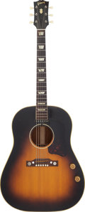 Musical Instruments:Acoustic Guitars, 1954 Gibson J-160E Sunburst Acoustic Electric Guitar, Serial#X3640-29....