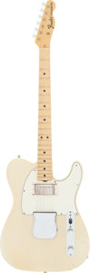 Musical Instruments:Electric Guitars, 1971 Fender Telecaster Blonde Solid Body Electric Guitar, Serial #340141....