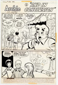 "Original Comic Art:Complete Story, Al Hartley Laugh Comics: #261: ""And in Conclusion"" Complete 6-Page Story Original Art (Archie Comics, 1972).... (Total: 6 Original Art)"