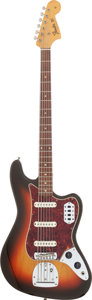 Musical Instruments:Bass Guitars, 1963 Fender Bass VI Sunburst Electric Bass Guitar, Serial # L67860....