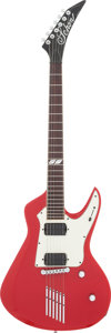 Musical Instruments:Electric Guitars, Circa 2006 Neil Schon Red Solid Body Electric Guitar, Serial # NS60006....