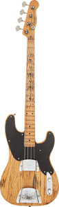 Musical Instruments:Bass Guitars, 1954 Fender Precision Bass Natural Electric Bass Guitar, Serial # N/A....