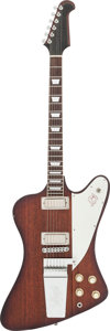 Musical Instruments:Electric Guitars, Circa Early 1970s Ibanez Firebird Sunburst Solid Body ElectricGuitar....