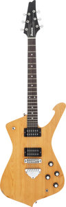 Musical Instruments:Electric Guitars, 1978 Ibanez Iceman Natural Solid Body Electric Guitar, Serial # I784315....