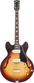 Musical Instruments:Electric Guitars, 1964 Gibson ES-330 TD Sunburst Semi-Hollow Body Electric Guitar,Serial #179146....