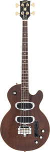 Musical Instruments:Bass Guitars, 1970 Gibson Les Paul Walnut Electric Bass Guitar, Serial #898020....