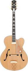 Musical Instruments:Electric Guitars, Circa 2002 Gibson Citation Natural Archtop Electric Guitar, Serial# 2002002....