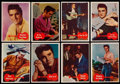 Non-Sport Cards:Sets, 1956 Topps Elvis Presley Partial Set (30/66) Plus Two 1953 Bowman TV and Radio Stars....