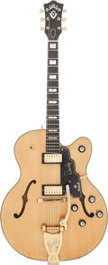 Musical Instruments:Electric Guitars, 1967 Guild Duane Eddy 500 Natural Semi-Hollow Body Electric Guitar,Serial #E1 127....