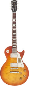 """Musical Instruments:Electric Guitars, 2013 Gibson Les Paul """"Shadows of '59"""" Sunburst Solid Body Electric Guitar, Serial #932427..."""