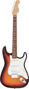 Musical Instruments:Electric Guitars, 1994 Fender Stratocaster Sunburst Solid Body Electric Guitar, Serial # 10 of 12....