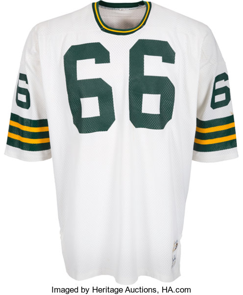size 40 5f161 113f7 1973 Ray Nitschke Game Worn Green Bay Packers Jersey - Photo ...