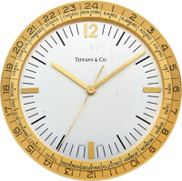 Tiffany & Co. World Time Desk Clock