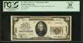 National Bank Notes:Pennsylvania, Smethport, PA - $20 1929 Ty. 2 The Grange NB of McKean County Ch. #8591. ...