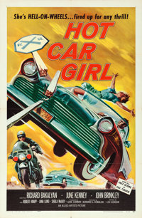"Hot Car Girl (Allied Artists, 1958). One Sheet (27"" X 41"")"