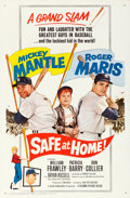"Movie Posters:Sports, Safe at Home (Columbia, 1962). One Sheet (27"" X 41"").. ..."