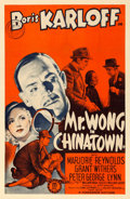 "Movie Posters:Mystery, Mr. Wong in Chinatown (Monogram, 1939). One Sheet (27"" X 41"").. ..."