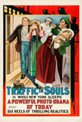 "Movie Posters:Drama, Traffic in Souls (Universal Film Manufacturing, 1913). One Sheet(28.25"" X 42"").. ..."