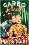 "Movie Posters:Romance, Mata Hari (MGM, 1931). Finnish Poster (18.5"" X 28"").. ..."