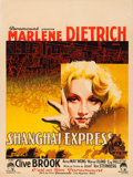 "Movie Posters:Drama, Shanghai Express (Paramount, 1932). French Moyenne (23.75"" X 31.5"") Roger Soubie Artwork.. ..."