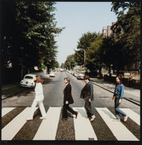 Iain Macmillan (Scottish, 1938-2006) The Beatles, Abbey Road (two rare alternate cover photograph outta
