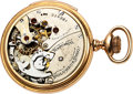 Timepieces:Pocket (pre 1900) , Columbus Watch Co. Rare 16 Size Prototype Minute Repeater, circa1890's. ...