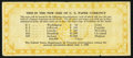 Obsoletes By State:Oregon, Portland, OR- Portland Trust and Savings Bank New Size of U.S.Paper Money July 1, 1929. ...