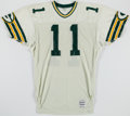 Football Collectibles:Uniforms, 1984-85 Joe Prokop/Alan Risher Green Bay Packers Team Issued Jersey. ...