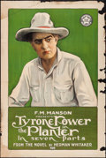"Movie Posters:Drama, The Planter (Mutual, 1917). One Sheet (27.5"" X 41""). Drama.. ..."