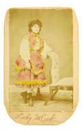 "Photography:CDVs, ""Soiled Dove"" Carte de Visite..."