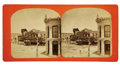 Photography:Stereo Cards, Stereocard of Alamo Plaza Circa 1880's...