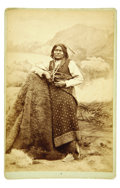 Photography:Cabinet Photos, Chief Wild Horse Cabinet Card...