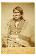Photography:Cabinet Photos, Chief Horseback of the Comanches Cabinet Card....