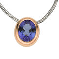 Estate Jewelry:Necklaces, Tanzanite, Gold Necklace. ...