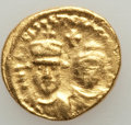 Ancients:Byzantine, Ancients: Heraclius (AD 610-641) & Heraclius Constantine (AD613-641). AV solidus (4.47 gm). About XF....