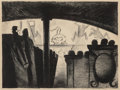 Fine Art - Work on Paper:Print, José Clemente Orozco (1883-1949). Vaudeville in Harlem,1928. Lithograph on wove paper. 12 x 16 inches (30.5 x 40.6 cm) ...