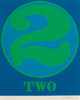 Robert Indiana (b. 1928) Two, from Numbers, 1968 Screenprint in colors on Schoellers Parole paper 25-1/2 x 19-3/4