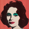 Fine Art - Work on Paper:Print, Andy Warhol (1928-1987). Liz, 1964. Offset lithograph in colors on wove paper. 23-1/8 x 23-1/8 inches (58.7 x 58.7 cm) (...