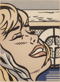 Fine Art - Work on Paper:Print, Roy Lichtenstein (1923-1997). Shipboard Girl, 1965. Offsetlithograph in colors on wove paper. 27 x 20-3/8 inches (68.6 ...