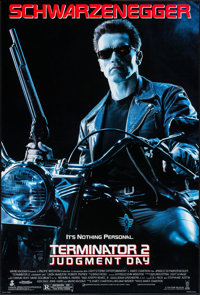 """Terminator 2: Judgment Day (Tri-Star, 1991). One Sheet (27"""" X 39.5""""). Science Fiction"""